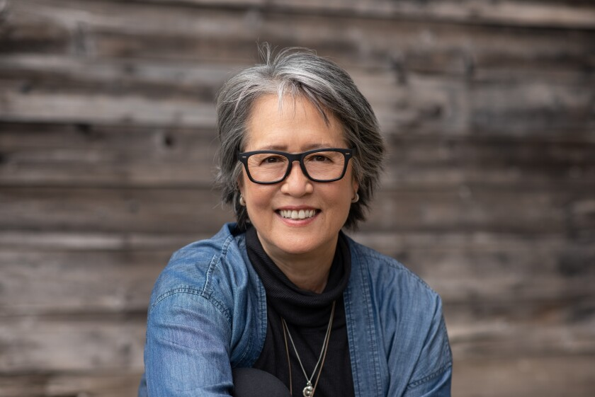 """Ruth Ozeki, author of """"The Book of Form and Emptiness."""""""