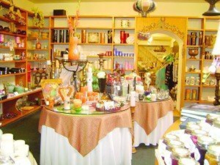 The interior of the Knorr Candle Shop. Courtesy photos
