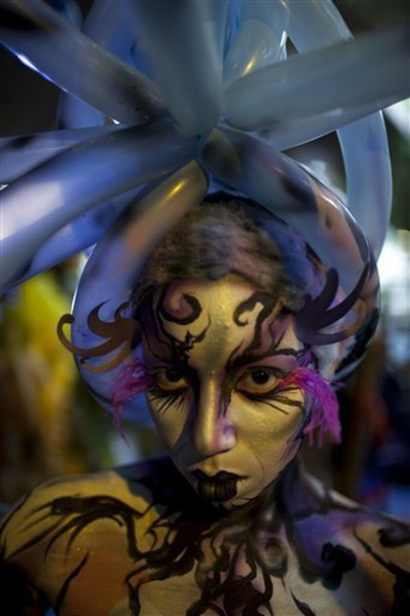 Painted Bodies Transformed Into Art In Venezuela The San Diego Union Tribune
