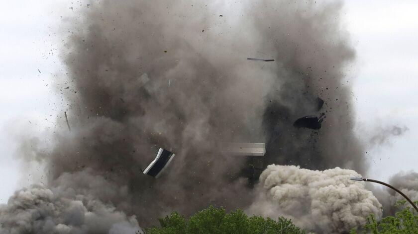 Massive Bethlehem Steel headquarters in Pennsylvania demolished in seconds: 'It breaks my heart'
