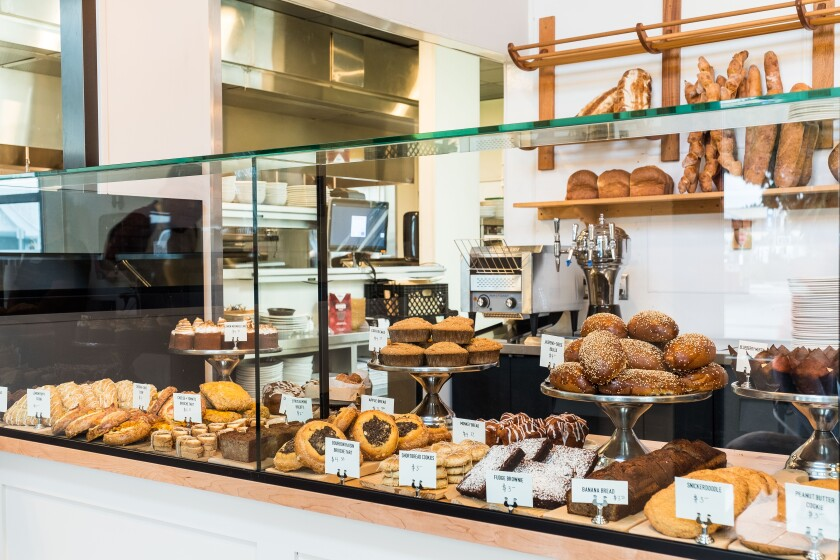 Cardellino's cafe and bakery, which is open every day from 7:30 a.m. to 5 p.m., is a showcase for the Trust Restaurant Group's executive pastry chef Jeremy Harville.