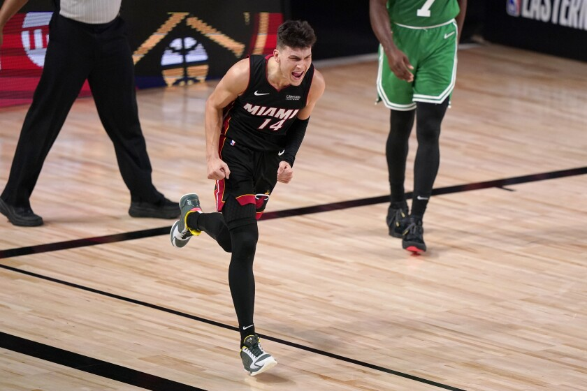 Heat Get Chance Friday To Oust Celtics Reach Nba Finals The San Diego Union Tribune