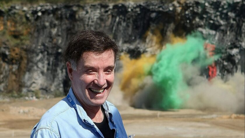 Eike Batista during the July 2010 launch of a harbor construction project in Itaguai, Brazil. Once the country's richest man, Batista lost billions after his oil company, OGX, went bankrupt.