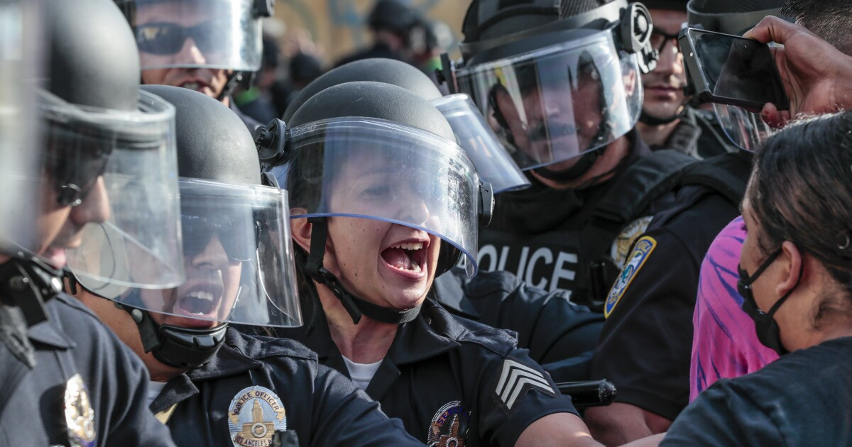 As Trump blames 'lamestream media,' journalists arrested and injured during protests