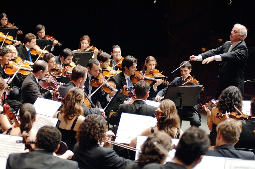 Daniel Barenboim conducts all nine Beethoven Symphonies over five Proms with the WestñEastern Divan Orchestra.