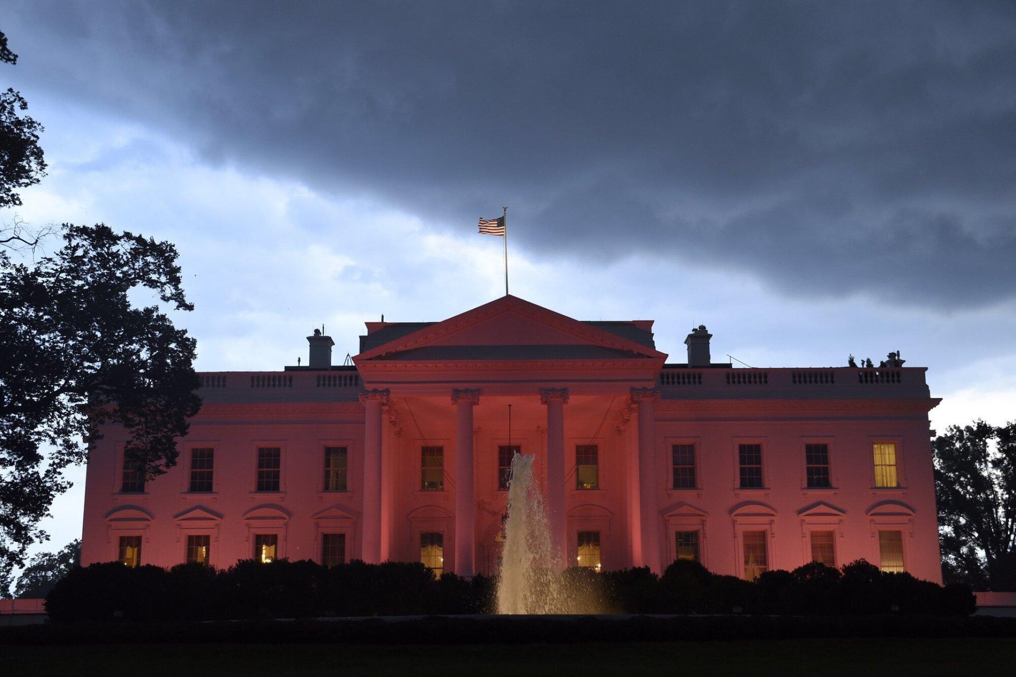 The White House in Washington.