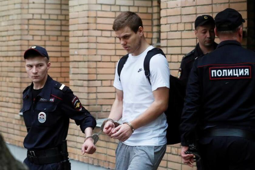 Los futbolistas rusos Kokorin y Mamaev obtienen la libertad anticipada