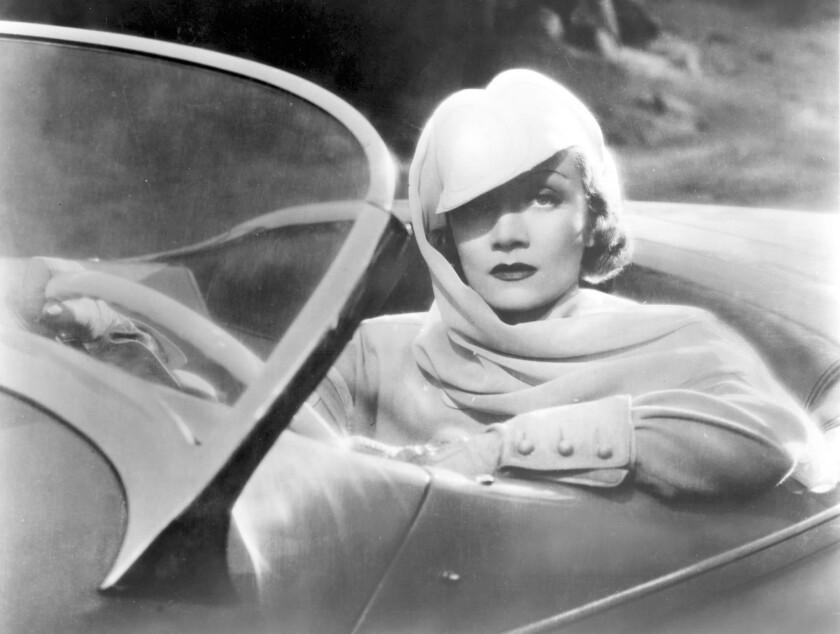 """Marlene Dietrich as jewel thief Madeleine de Beaupre in """"Desire."""""""