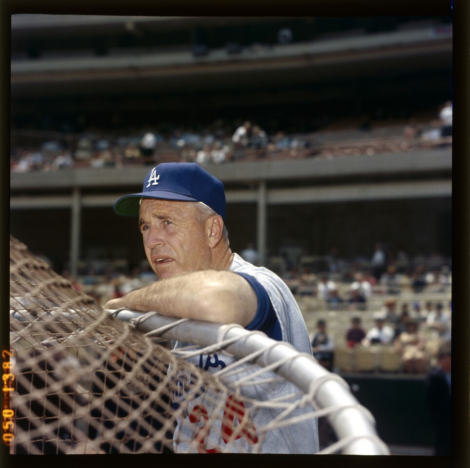 Years in L.A.: 1958-76 Record in L.A.: 1,673-1,365 (.533) World Series titles: 3 NL titles: 5