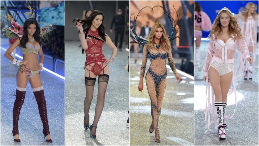 Looks from the 2016 Victoria's Secret Fashion Show.