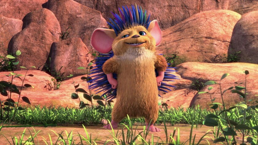 """Bobby the hedgehog voiced by Anthony Padilla in a scene from """"Hedgehogs."""" Credit: Lionsgate Home Ent"""