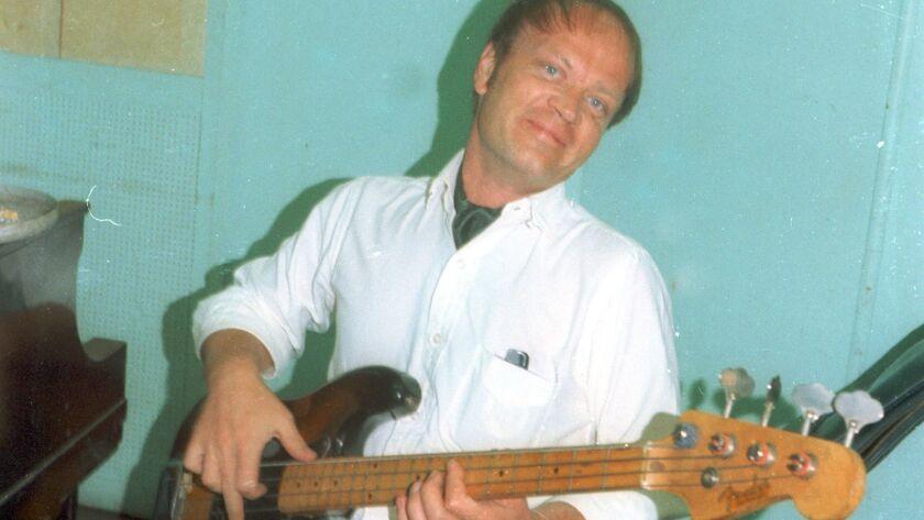 Lyle Ritz in the studio in 1970