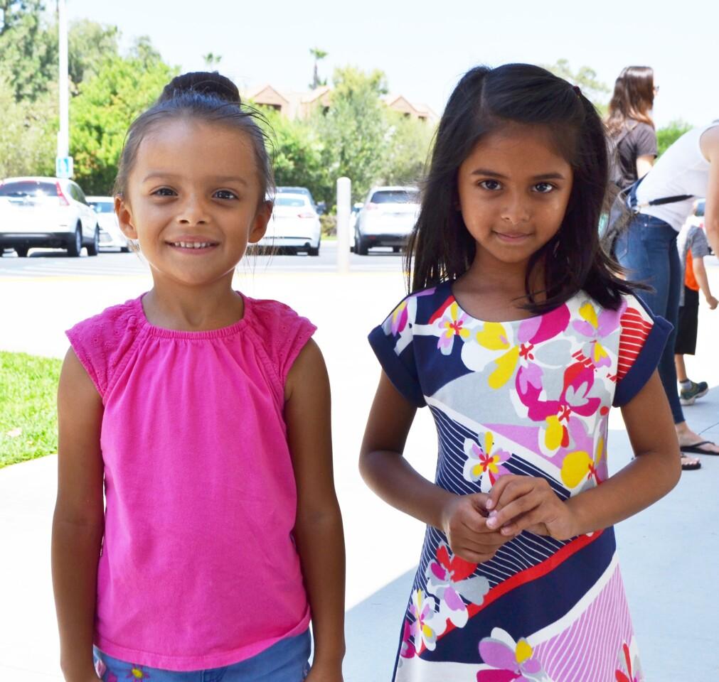 Westwood Elementary's kindergarten orientation - 8/21/2018