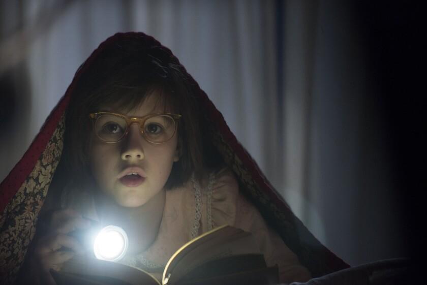 """Ruby Barnhill stars in """"The BFG,"""" adapted from Roald Dahl's novel."""