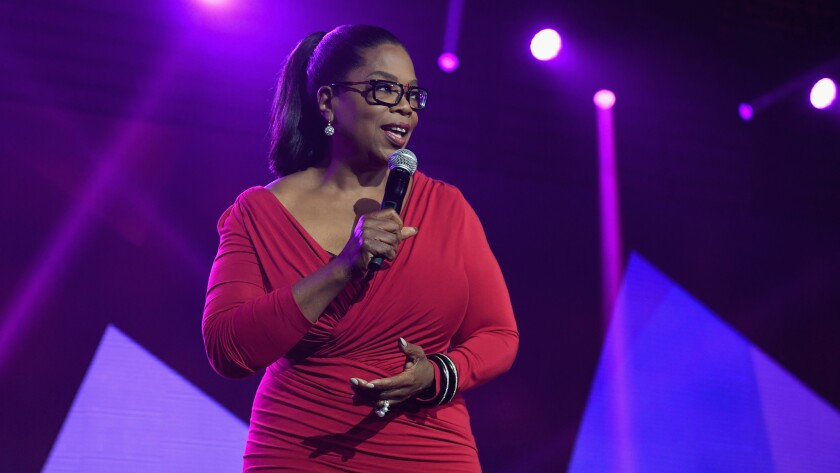 """Oprah Winfrey, shown at the recent Essence Festival, has selected Colson Whitehead's novel """"The Undergound Railroad"""" for her Book Club."""