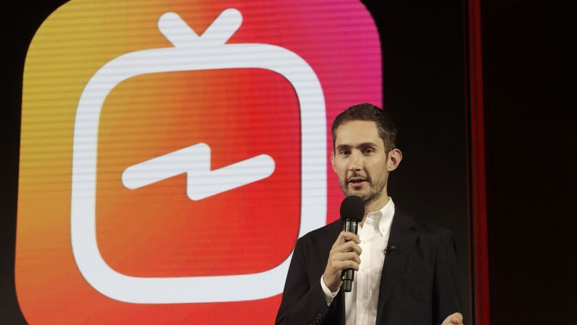 Instagram CEO Kevin Systrom said he hopes IGTV will emerge as a hub of creativity for relative unknowns who turn into internet sensations.