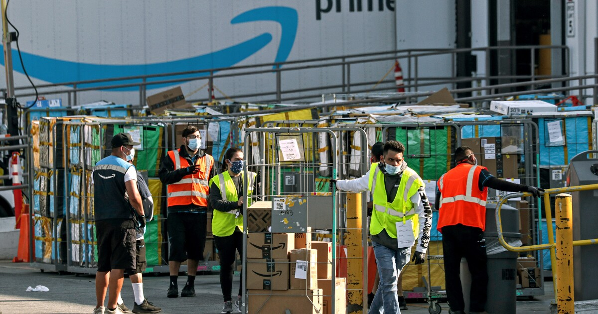 Amazon warehouse in Rialto fined $41,000 for coronavirus safety violations, Swahili Post