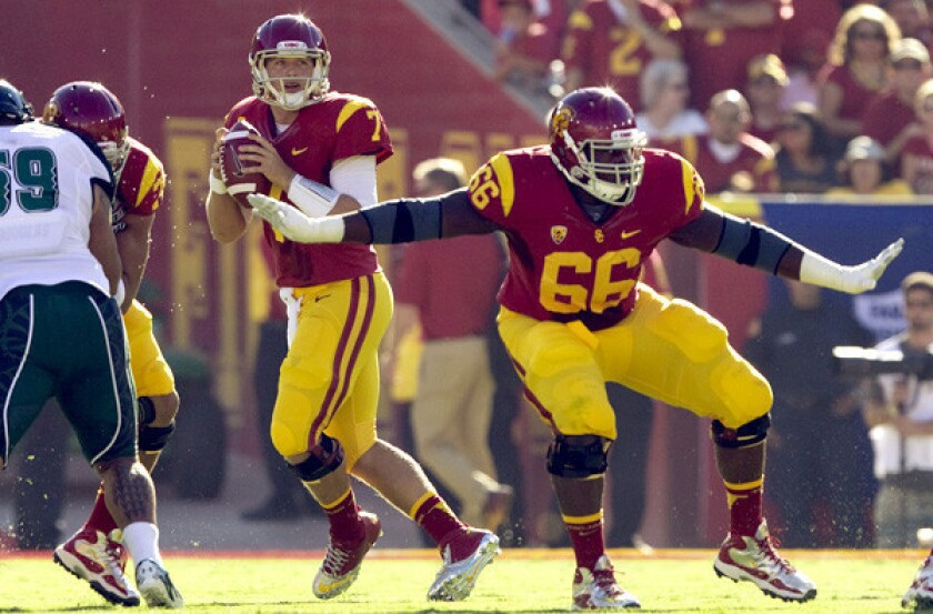 USC football: Center Marcus Martin announces he will enter NFL draft