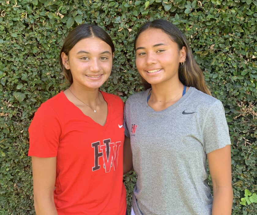 Gisele Thompson, left, and sister Alyssa Thompson are two of the best girls' youth soccer players in the nation.