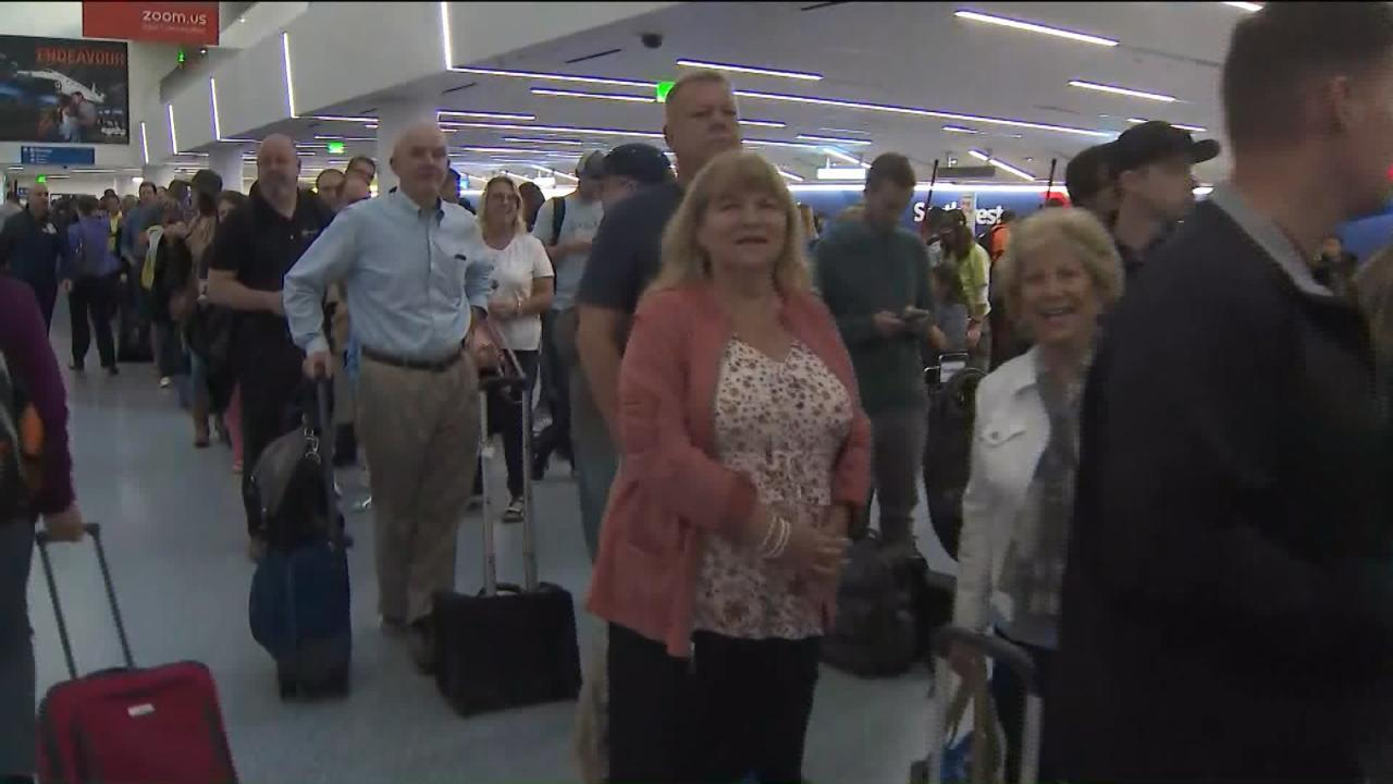 LAX power outage leaves many travelers grounded