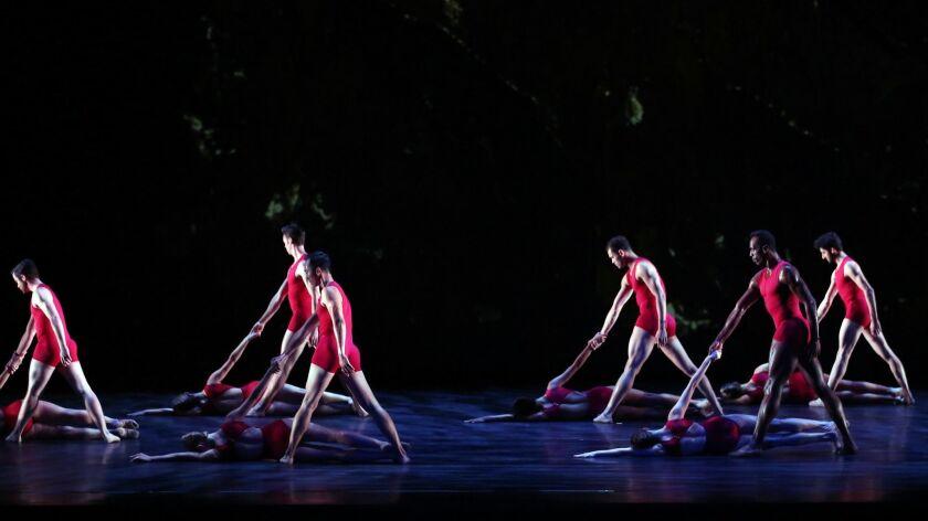 "Raiford Rogers Modern Ballet performing ""Joshua Tree Symphony."""