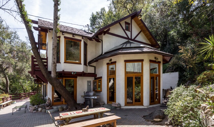 John Kassir's Topanga retreat
