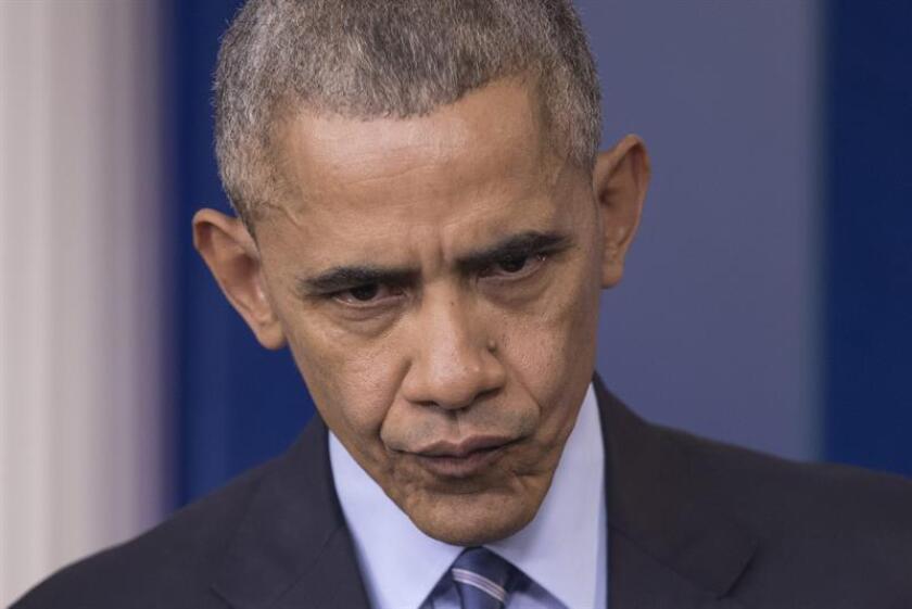 """El presidente de Estados Unidos, Barack Obama, consideró hoy """"despreciable"""" el ataque sucedido en Chicago y retransmitido en vivo por Facebook de cuatro jóvenes afroamericanos a un discapacitado. EFE/ARCHIVO"""