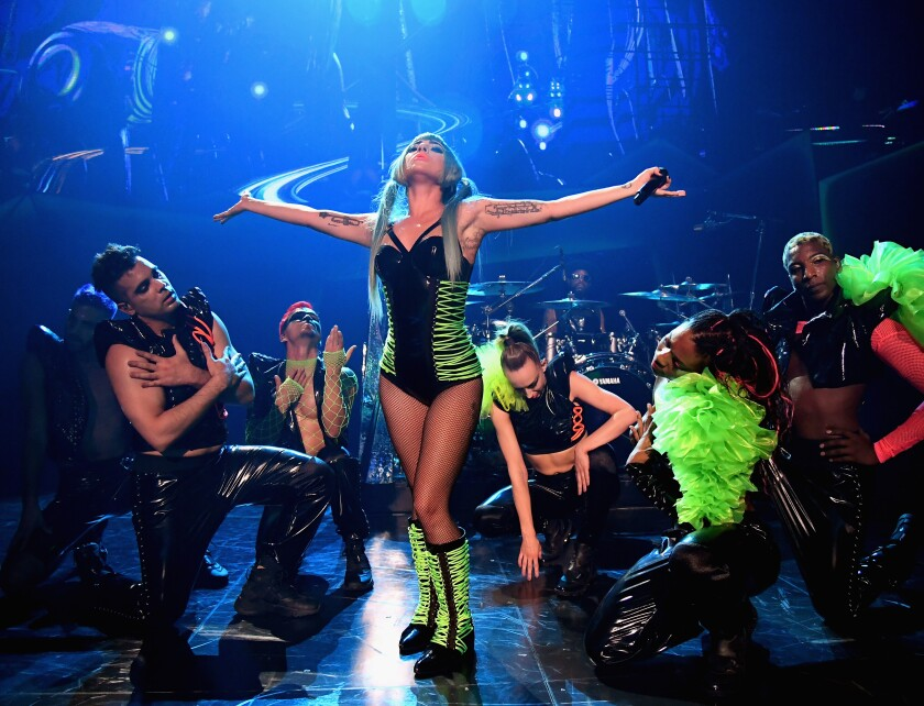 Lady Gaga's two residencies at the Park MGM's Park Theater includes the pop superstar's showy Enigma.