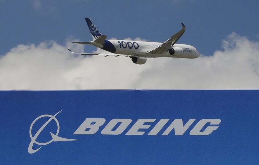 Boeing Airbus Planes