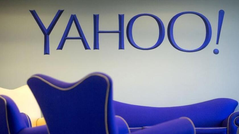 Yahoo's customer care center in Amherst, N.Y.