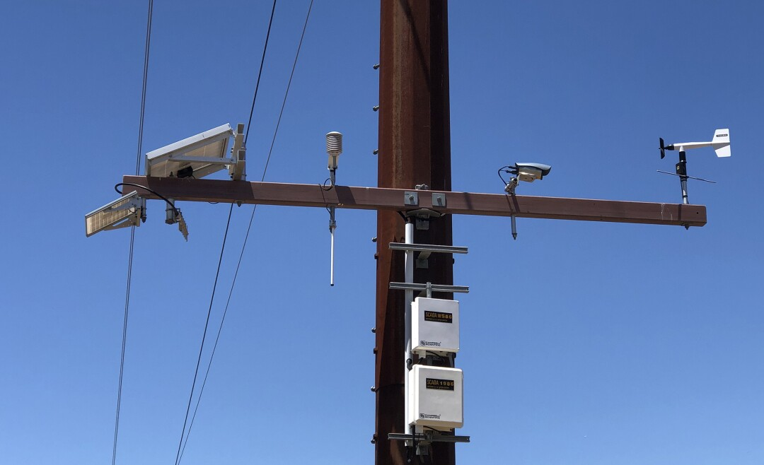 SDG&E has 220 weather stations throughout the county