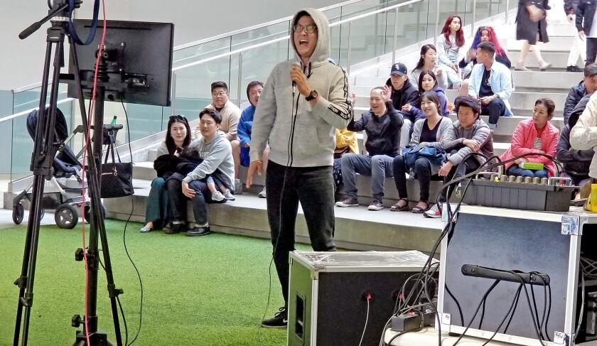 Radio Korea Live Stream Street Karaoke is inspired by a recent street karaoke phenomenon in Korea, a