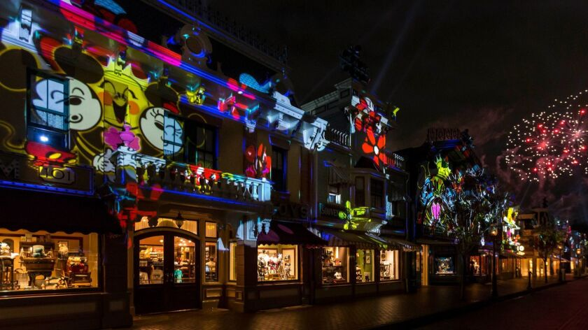 Mickey Mouse, get your rave on — Disneyland's new show is a