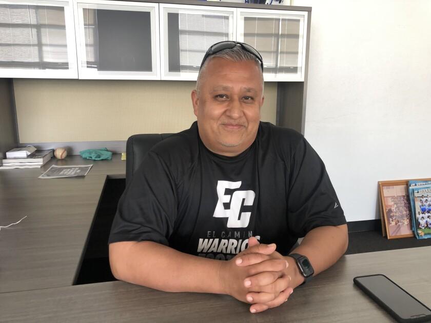 Former St. Bernard coach Manuel Douglas.
