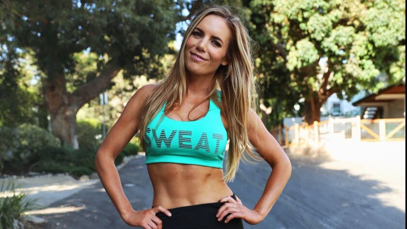Katie Dunlop, creator of Love Sweat Fitness - an online women's fitness and lifestyle community an