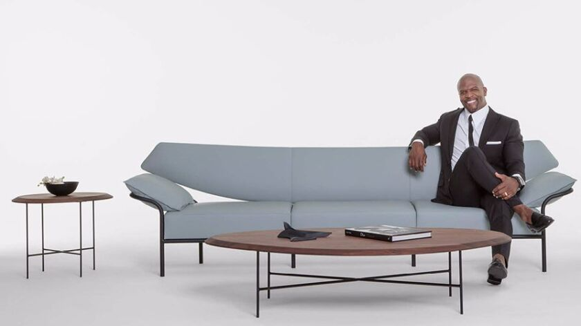 Actor Terry Crews introduces a contemporary furniture ...
