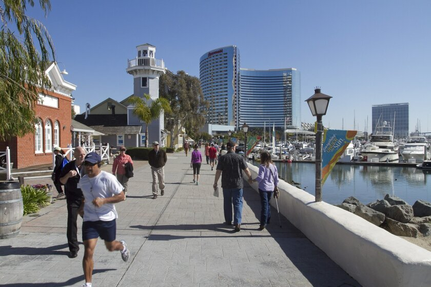 San Diego's tourism bureau had to cancel its TV ad campaign for this summer because its funds are frozen.