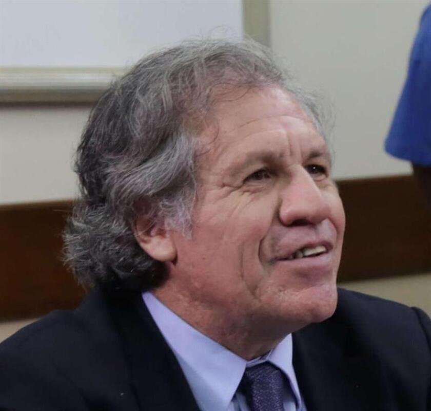 Secretario general de la OEA, Luis Almagro. EFE/Archivo