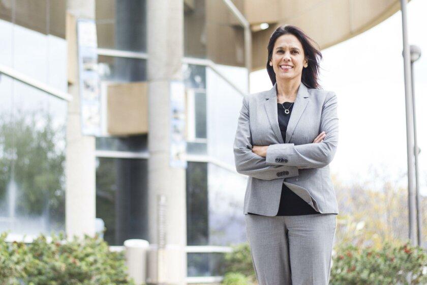 [January 7, 2016] Cuyamaca College President Julianna Barnes. Chadd Cady/For The San Diego Union-Tribune