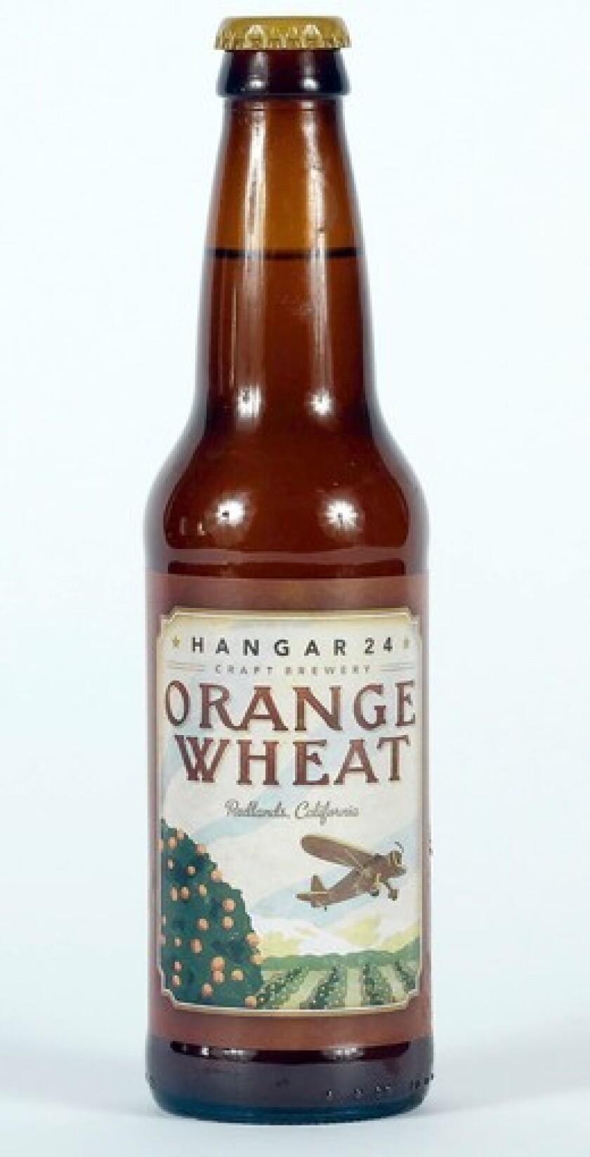 Hangar 24 Orange Wheat has a true taste of orange.