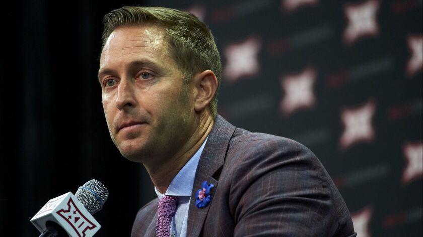 New USC offensive coordinator Kliff Kingsbury will interview
