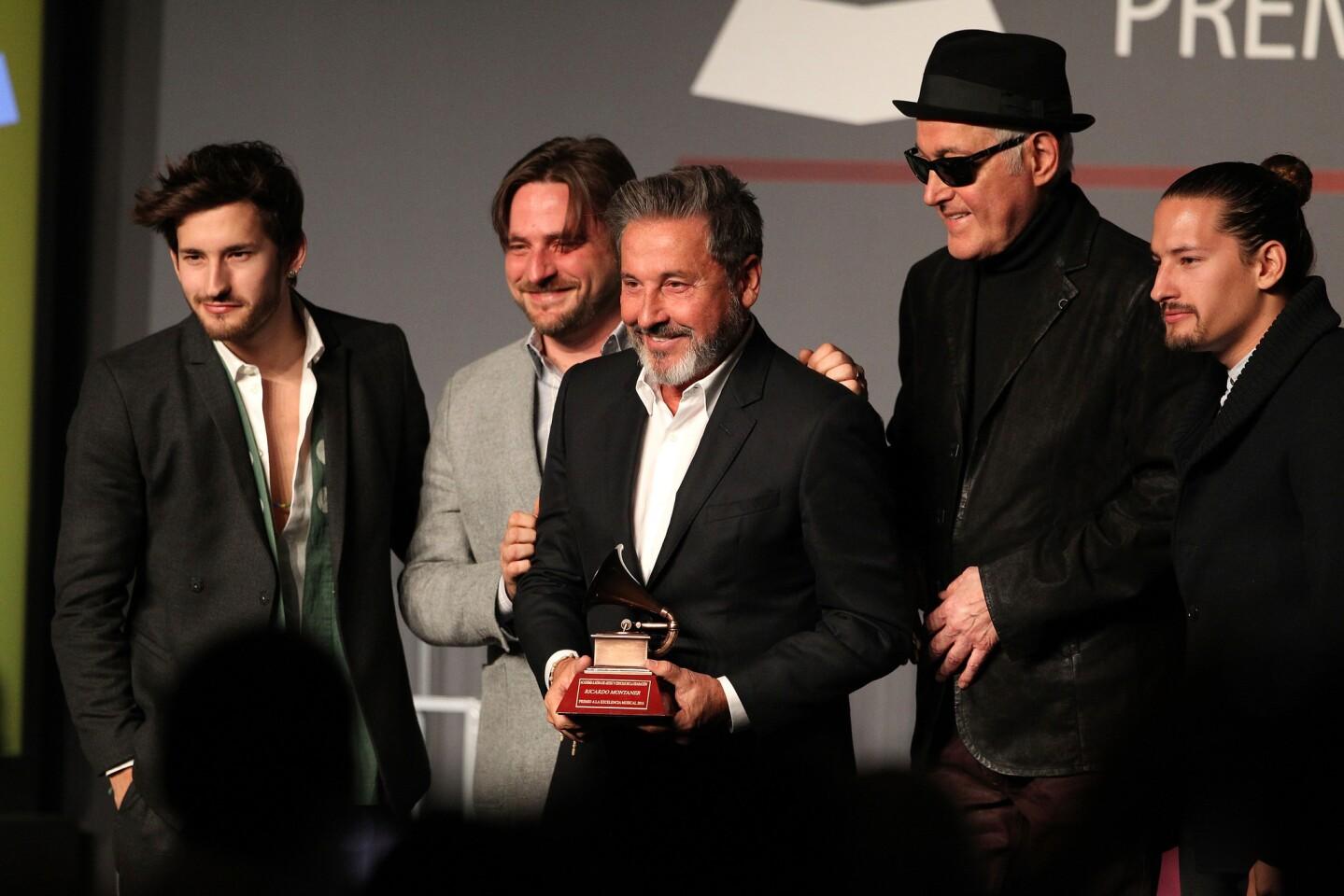 NV: The XVII Annual Latin Grammy Awards - Special Awards Ceremony