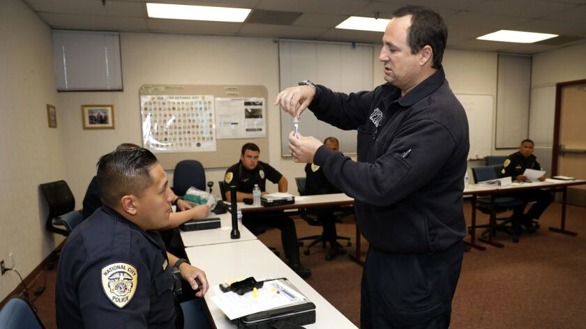 3048767_sd_se_narcan_NL San Diego, CA May 22, 2018 Scott Robinson, of the National City Fire D