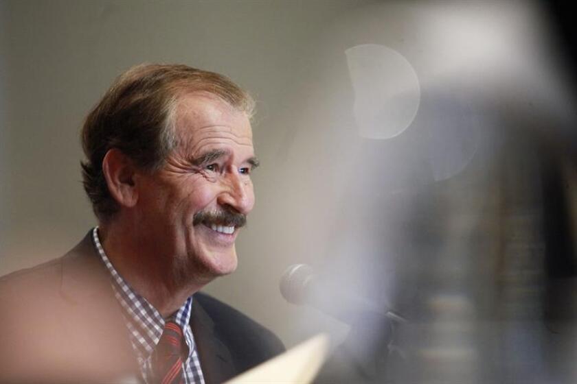 El expresidente de México Vicente Fox encabezará la mesa redonda que inaugurará la primera Cumbre Mundial de la Felicidad (WOHASU), que reunirá en Miami el próximo mes de marzo a otros dirigentes, economistas, académicos y activistas para reflexionar sobre la importancia de ser felices. EFE/ARCHIVO