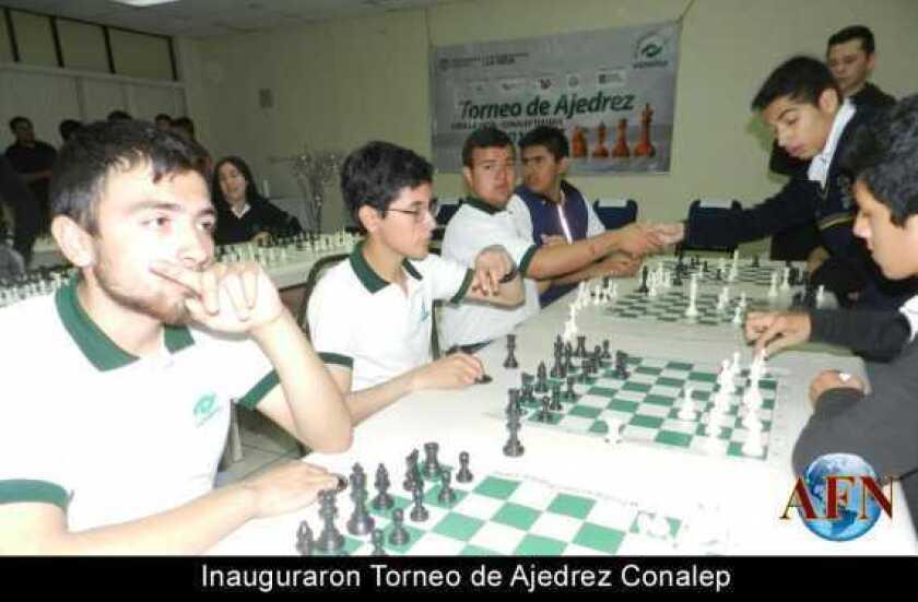 Inauguraron Torneo de Ajedrez Conalep