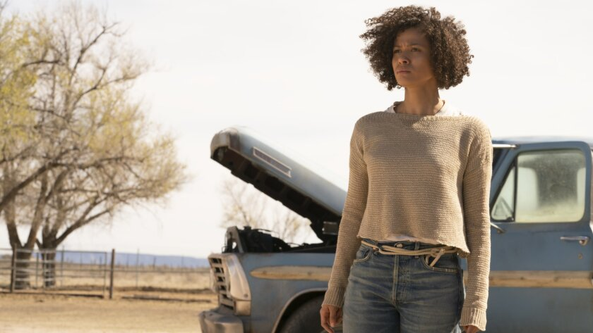 """Gugu Mbatha-Raw in a scene from """"FAST COLOR."""" Credit: Jacob Yakob/Codeblack Films"""