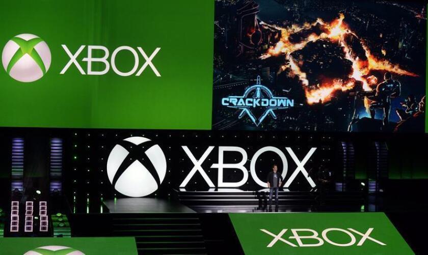 Presentación del juego ' 'Crackdown', el lunes 9 de junio de 2014, en una conferencia de prensa antes del inicio de la Feria E3 en Los Ángeles (EE.UU.). EFE/Archivo