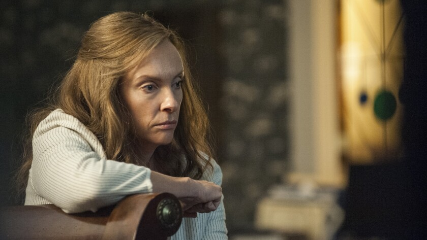 """Toni Collette in a scene from """"Hereditary."""" Credit: Reid Chavis / A24"""