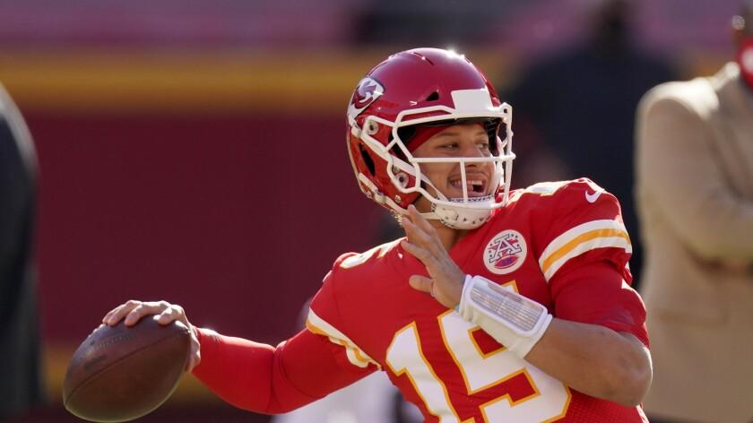 Kansas City Chiefs quarterback Patrick Mahomes.