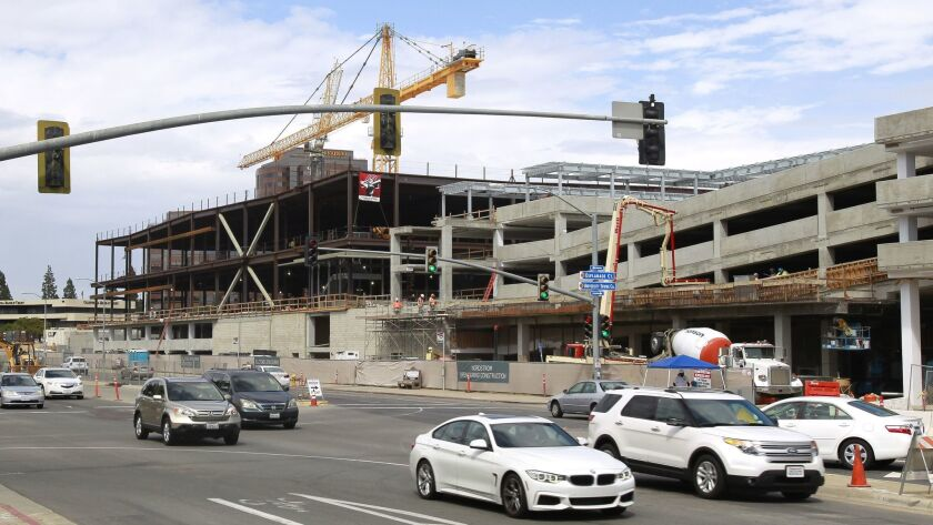 Just the first two hours of parking will be free at Westfield UTC starting next year.